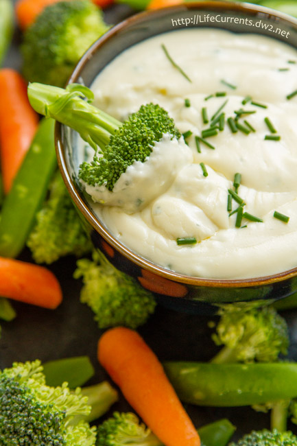 Blue Cheese Sauce: If you like Blue Cheese, you'll love this sauce! It's rich and creamy without being too heavy. Just the right balance of flavors.