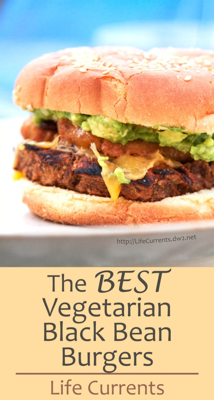 These Vegetarian Black Bean Burgers are simply the best recipe we've made. Moist and flavorful. Easy to make. Super tasty.
