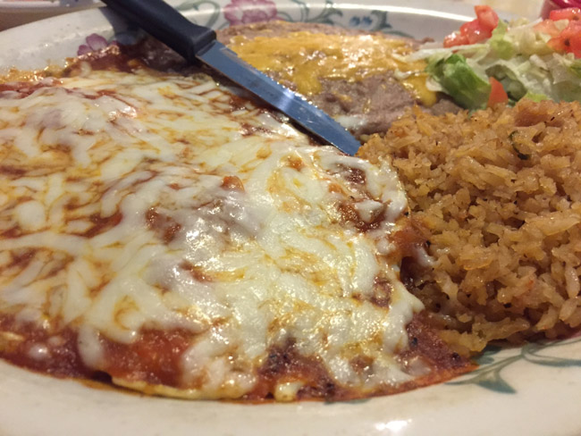Great Places to Eat on Whidbey Island: El Corral Mexican Restaurant - Huevos Rancheros