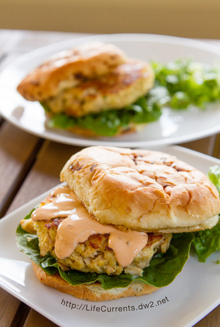 Island Trollers Tuna Burgers with Chipotle Mayo are a great way to celebrate summer!