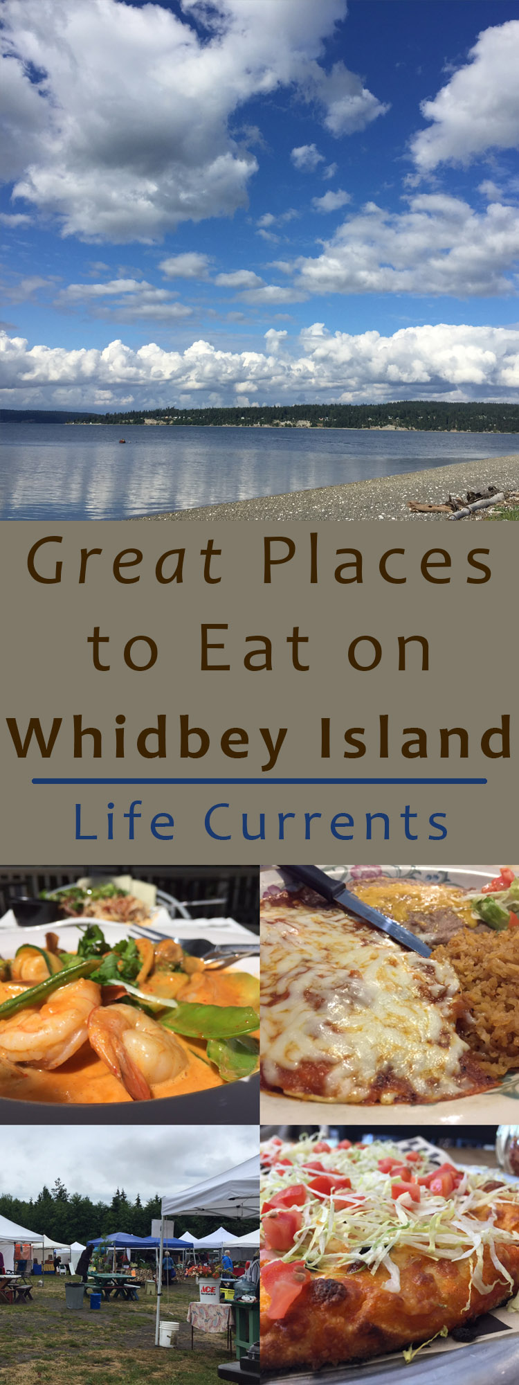 Great Places to Eat on whidbey Island! wheather you're here for the weekend or for the summer, give these places a try!