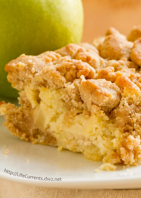Mother's Day Desserts - Apple Crumb Cake - it's like autumn in a cake! Perfect for breakfast or a snack