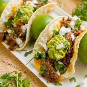 Crock Pot or Slow Cooker Mexican Carne Asada for tacos, burritos, nachos, anything!