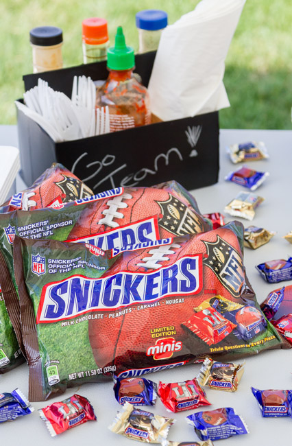 9 Tips for Tailgating Like A Boss with Snickers NFL Minis