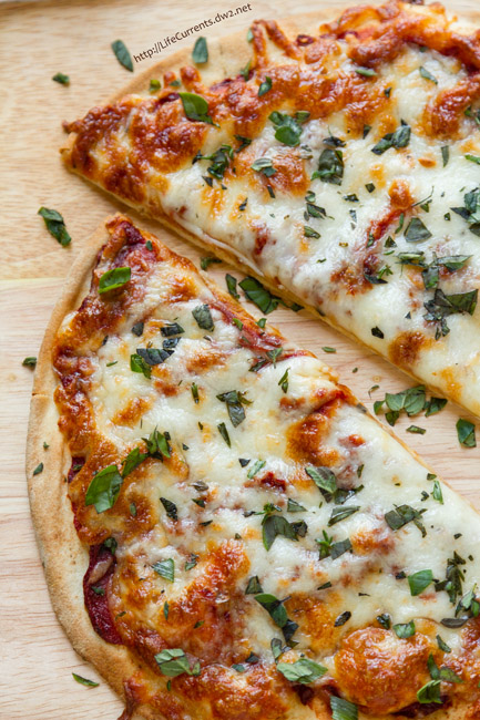 Beer and Pizza Night with a recipe for Easy Garlic and Herb Pizza