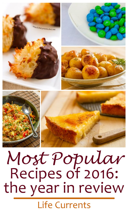 Most Popular Recipes of 2016: the year in review.