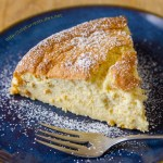 Lemon Soufflé Cheesecake - Birthday Dessert