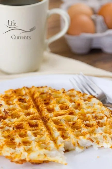Waffle Iron Hash Browns recipe breakfast