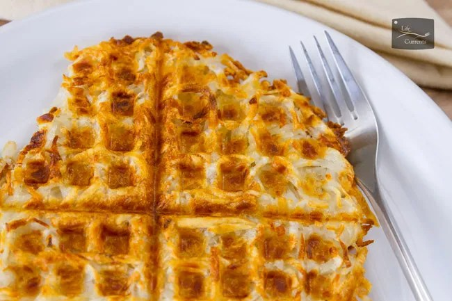 Most Popular Recipes of 2017: the year in review - Waffle Iron Hash Browns - make your own crispy crunchy and delicious hash browns the easy way, in the waffle iron. Breakfast never had it so good