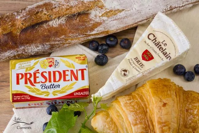 Brie Butter Sauce Crepes Made in France - French Cheese French Butter