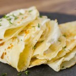 Brie Butter Sauce Crepes Recipe - Made in France