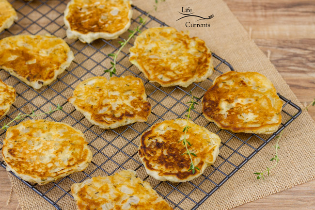 Onion Fritter Recipe - an easy to make side dish that tastes like onion rings