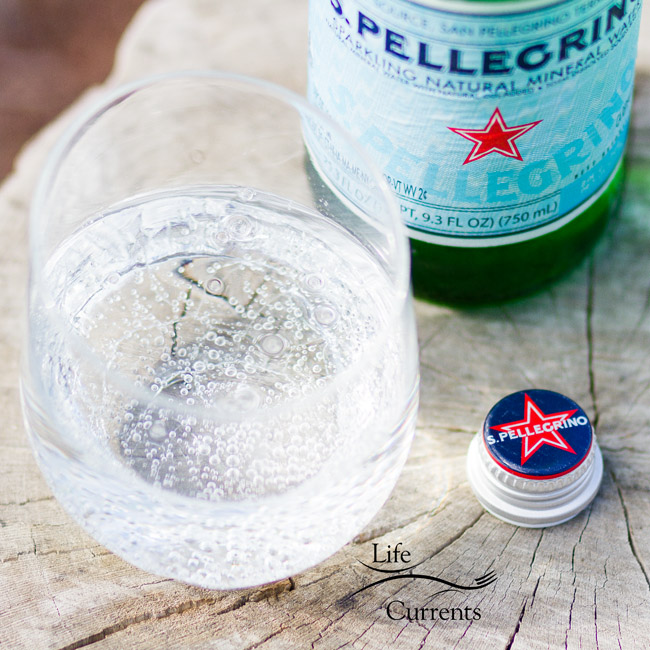 Basil Lime Sparkling Green Tea I love this drink made with San Pellegrino® Sparkling Natural Mineral Water