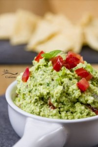 Mediterranean Avocado Feta Dip recipe - easy to make & delicious!