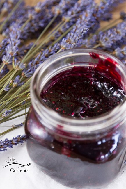 Zucchini Jam featured recipe for Small Batch Mixed Berry and Lavender Jam Recipe - homemade preserves