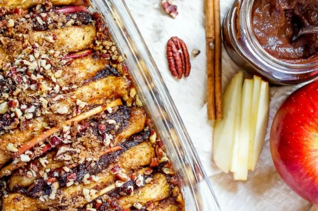 Recipes that use Apple Butter - Apple Pecan Pull Apart Bread