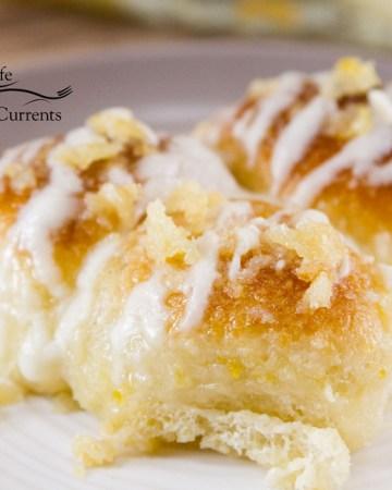 Lemon Pull-Apart Rolls Recipe These lemon rolls are the bomb!