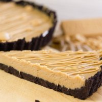 No-Bake Blonde Chocolate Ganache Tart