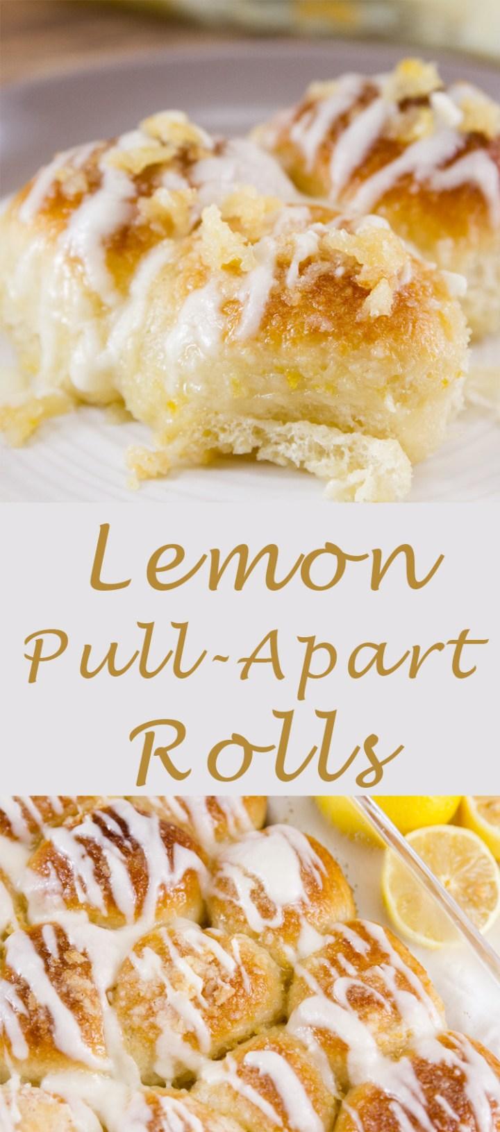 Lemon Pull-Apart Rolls Recipe