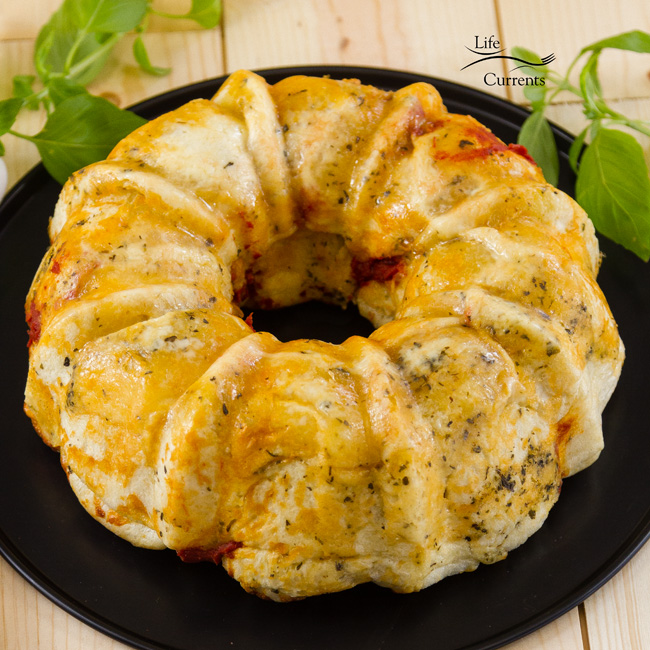 Pizza Pull Apart Bread Recipe