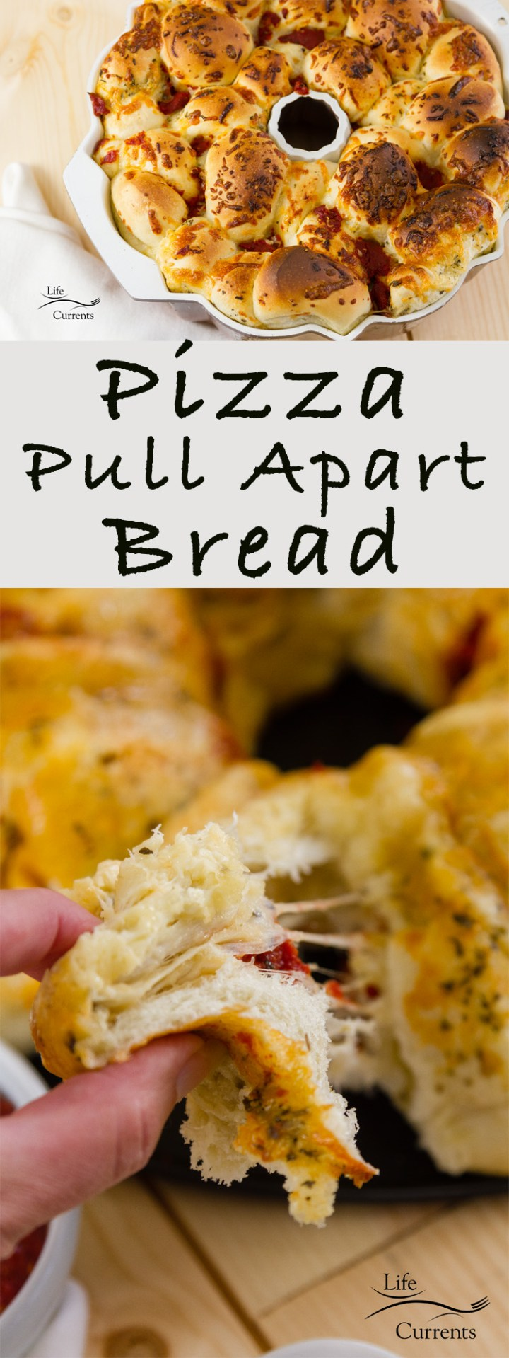 This Pizza Pull Apart Bread is the bomb! Easy to make, and super delicious! Besides, isn't it fun to pull things apart and eat them with your fingers!