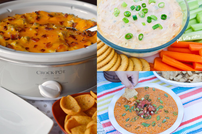 Tailgating Snacks Month 2017 Round Up Collage super creative recipes