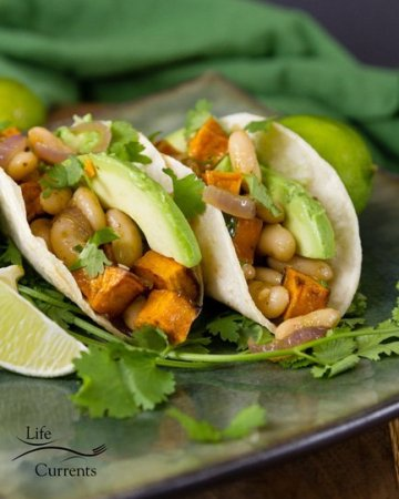 White Bean & Sweet Potato Taco Filling featuring Goya Foods for #MeatlessMonday #GoyaCanDo #GoyaGives