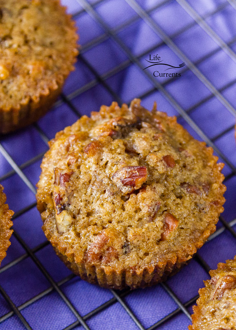 Pecan Pie Muffins - easy to make, super yummy