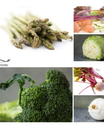 Simple Veggie Side Dishes that are perfect for the holidays - collage of different delicious veggies