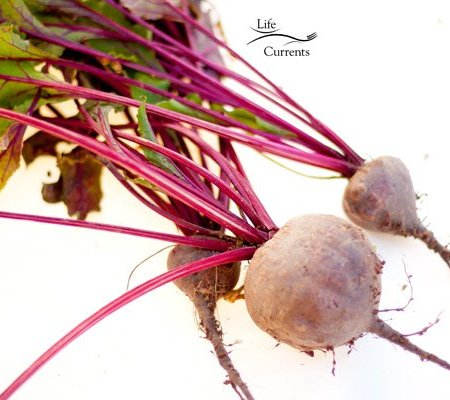 Simple Oven Roasted Beets - Sweet, earthy, robust, root vegetable, like pure veggie candy! And, all this yummy sweetness, and they're still healthy!
