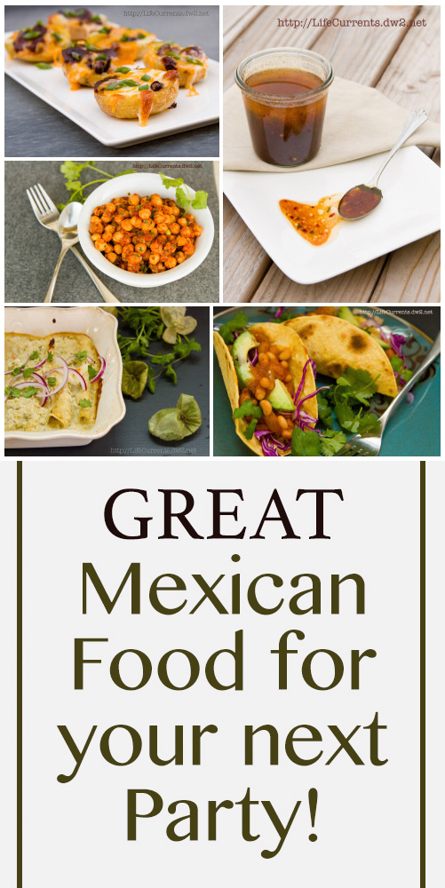 Mexican Food Recipe collection - the best Mexican food that's great fro Cinco de Mayo, Taco Tuesday, or any day!