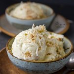 Coconut Custard Ice Cream for the coconut lover in your life