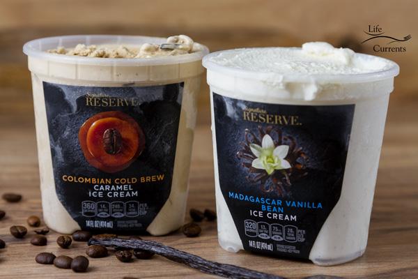 Marshmallow Hot Fudge over NEW Signature Reserve Super Premium Madagascar Vanilla Bean Ice Cream for a rich indulgent treat that's so worth it!