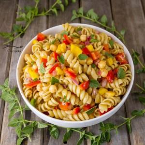 Balsamic Dressing Pasta Salad - great picnic food