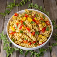 Balsamic Dressing Pasta Salad