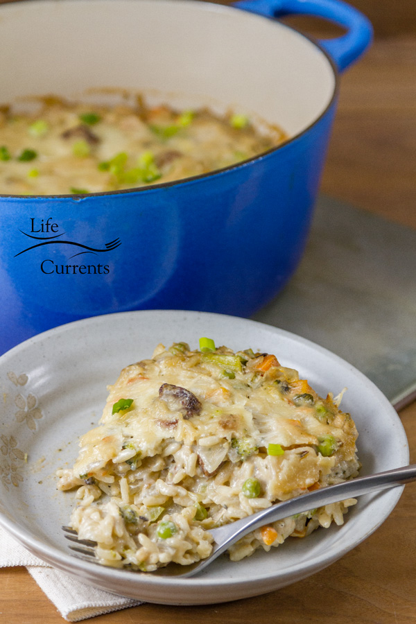 Vegetable Rice Casserole is easy to make