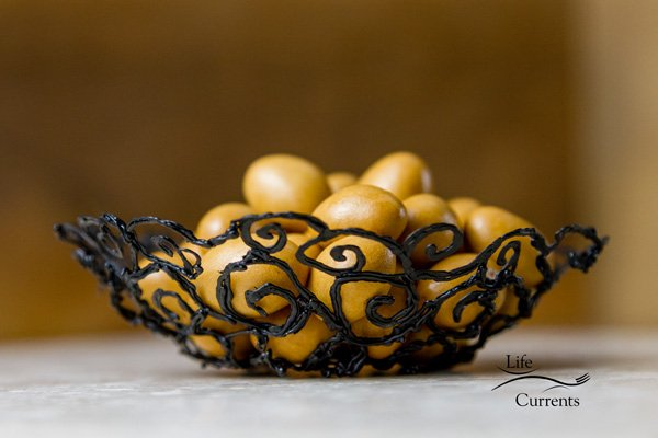 How to Make a Scroll Bowl using the 3Doodler - a great craft project for so many people!