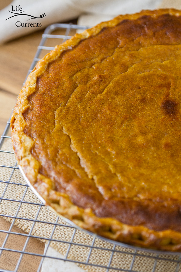I think it's time we stopped overlooking the delicious classic sweet potato pie (and just making pumpkin pies). Make them both! There's room at the table for all pies!