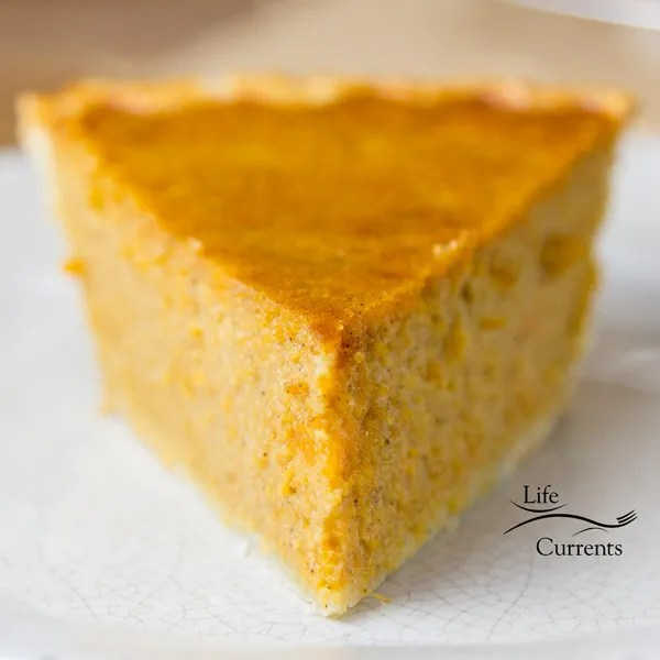 Sweet Potato Pie is an old-fashioned Thanksgiving pie with a rich flavor and great texture.