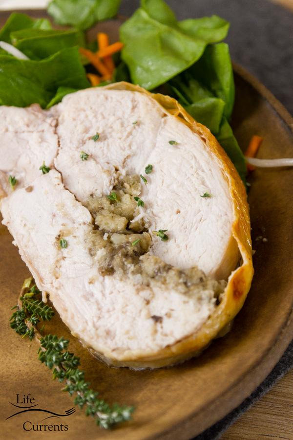 Rolled Stuffed Turkey - an impressive holiday Recipe
