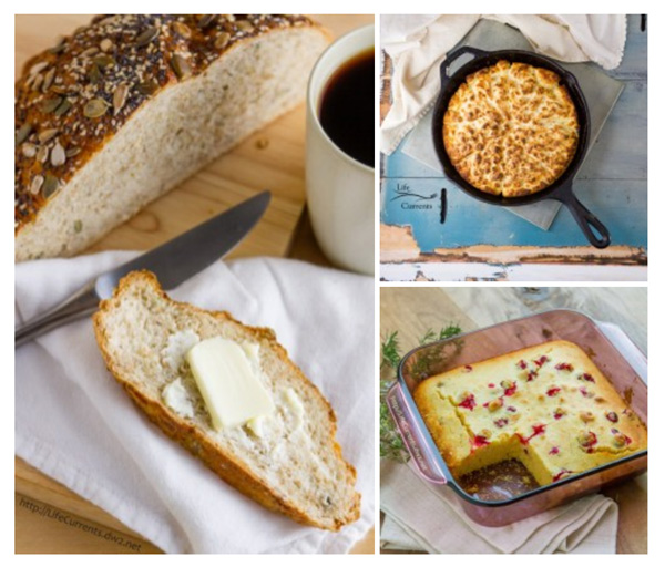 How to Host The Best Vegetarian Thanksgiving - from appetizers, to side dishes, including gravy and cranberry sauce, to main dishes and desserts. Breads