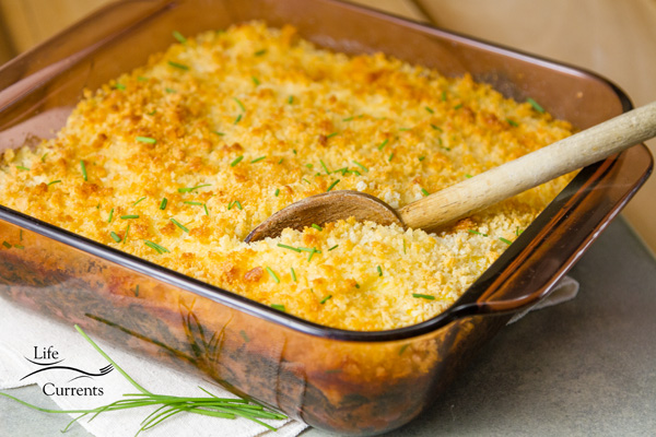 Spinach Gratin - This was so good that even my husband, who doesn't like cooked spinach at all loved it, and I caught him sneaking bites of it!
