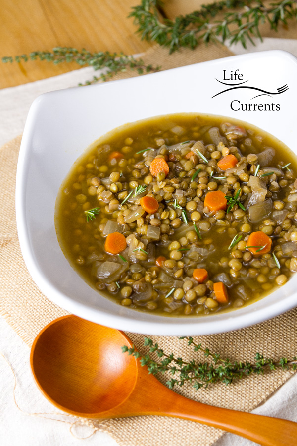 This Lentil Soup is the perfect winter soup Especially if you're trying to keep new year's resolutions of eating healthier and losing weight.