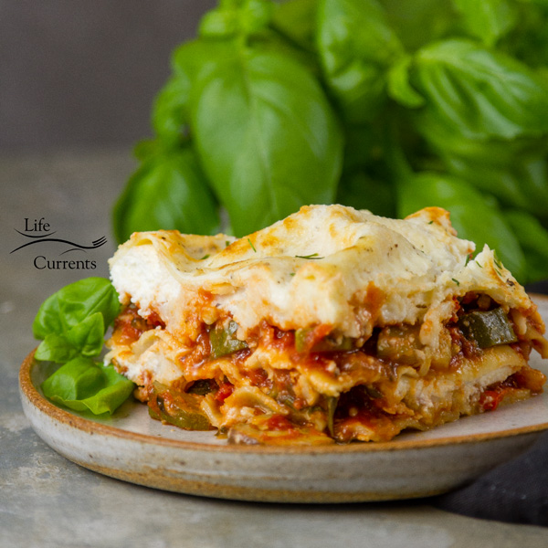 Vegetarian Lasagna Recipe - Whether you're doing meatless Monday, or just getting dinner on the table, this great casserole that's filled with perfectly cooked veggies will make everyone in happy, even the meat eaters in your family.