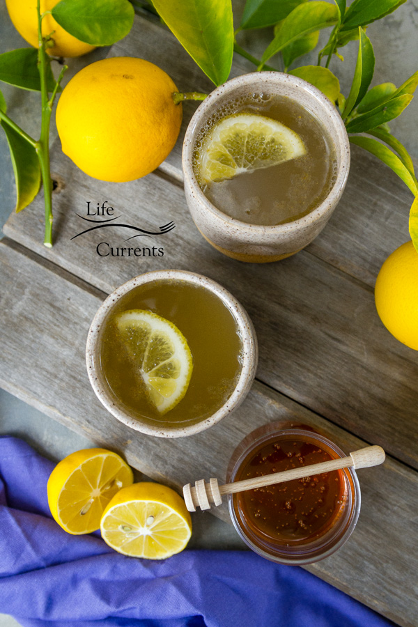 Honey Lemon Cold and Flu Remedy Drink - Looking for healthy sore throat and cold remedies? I have this delicious elixir tonic for you! This is one of the easiest, tastiest cold and flu remedies you'll find.