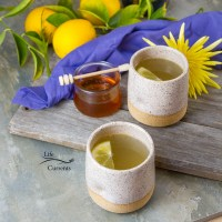 Honey Lemon Cold and Flu Remedy Drink