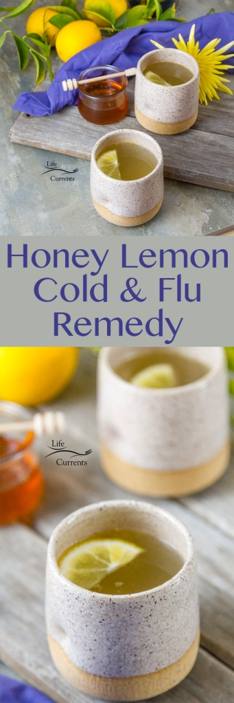 Honey Lemon Cold and Flu Remedy Drink Recipe