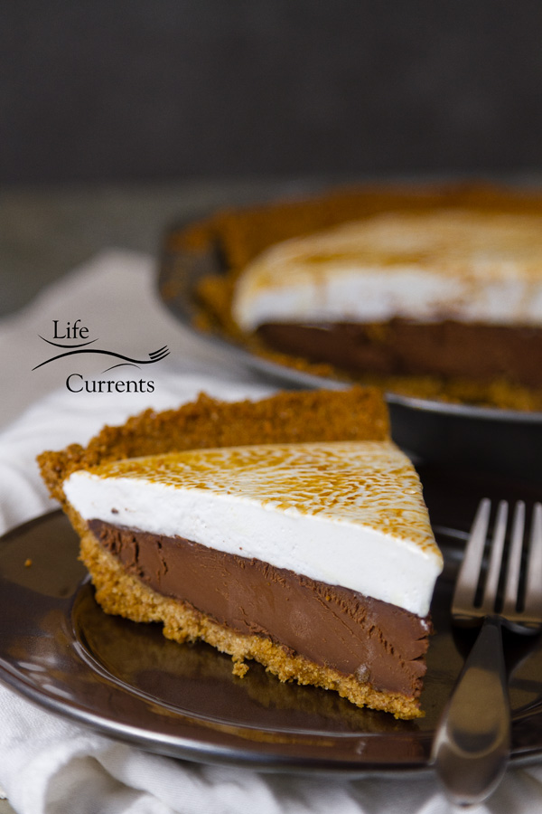 Chocolate S'More Pie - an impressive dessert recipe