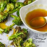 Honey Orange Roasted Broccoli