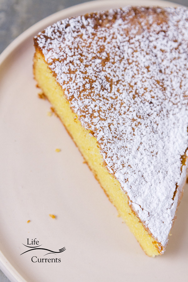 Almond Cake {with a gluten-free option} This is a cake you will make over and over for any special occasion like Mother's Day, Easter, Christmas, or birthdays.